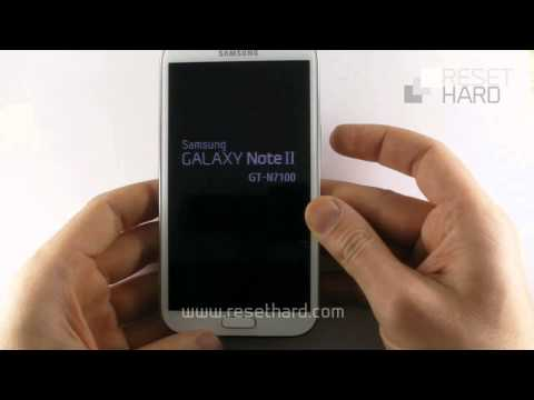 How To Hard Reset Samsung Galaxy Note 2