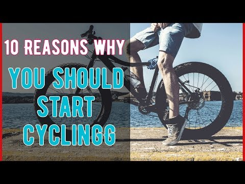 10 Reasons why you should start cycling; It slows down the aging process and boosts immunity