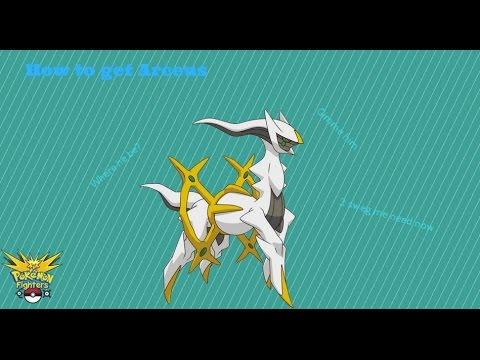 Pokemon Fighters EX: How to get Arceus