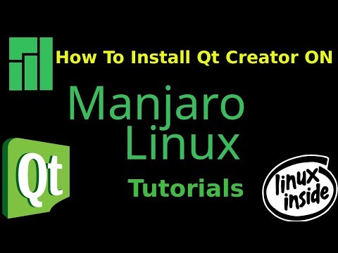 How to install Qt Creator On Manjaro KDE