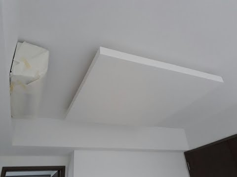 False Ceiling Island & Cove Light Holder & L-Box Construction