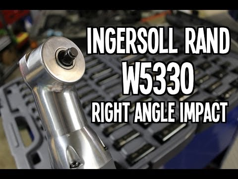 Ingersoll Rand W5330 Cordless Right Angle Impactool