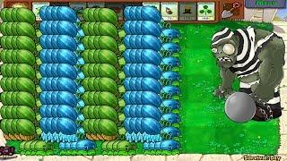 Plants vs Zombies Hak - 999 Winter Melon Pult vs Gargantuar vs Dr. Zomboss