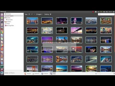 create a desktop wallpaper slideshow for ubuntu