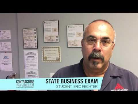 Florida Electrical Business Exam