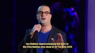 Comedian Joe DeRosa impersonating Bill Bur (2014)