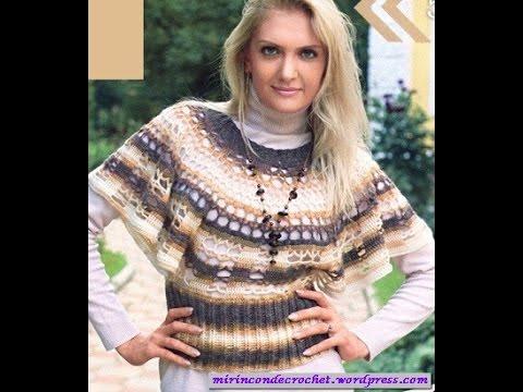 crochet shrug| how to crochet vest shrug free pattern tutorial for beginners 19