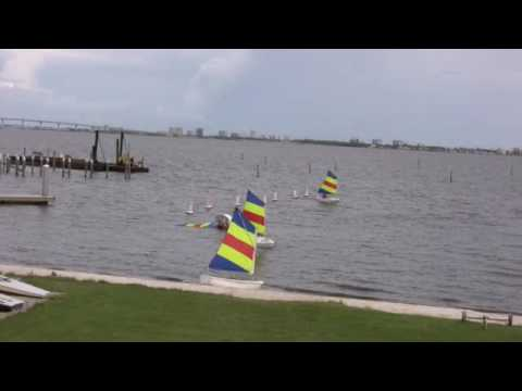 OPPI Optimist Dinghy Capsize - Adult Demonstration