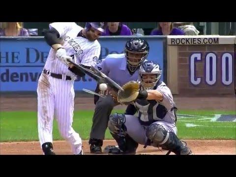 MLB Shattered Bats