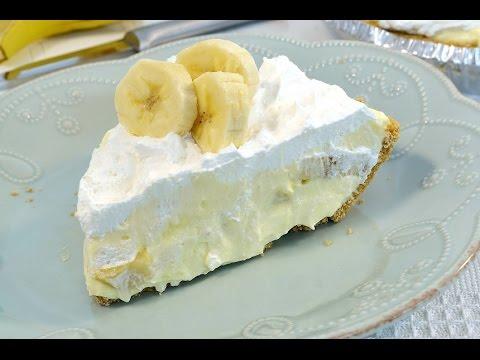 Banana Cream Pie Recipe - Banana Pudding Pie | RadaCutlery.com
