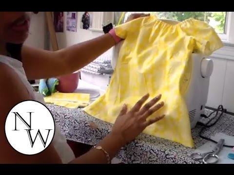 DIY: Peasant Top/Dress |Tutorial!