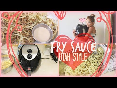 Air Fryer Curly Fries & Famous Utah Fry Sauce