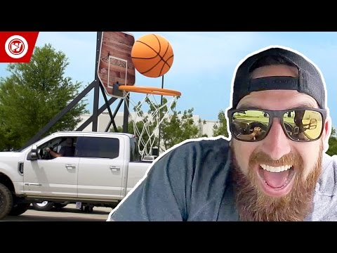 Dude Perfect | The Making Of Giant Basketball Trick Shots