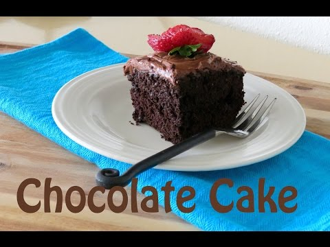 Homemade Chocolate Cake  -- The Frugal Chef