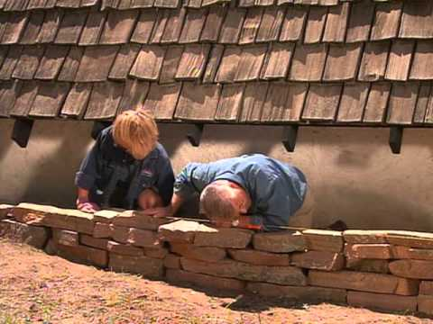 How to Build a Rock Wall Planter