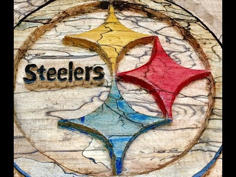 Steelers In Wood - Chop With Chris