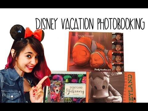 Disney Vacation Custom Shutterfly Photo Book Ideas!  Fun Post-Vacation Activity!