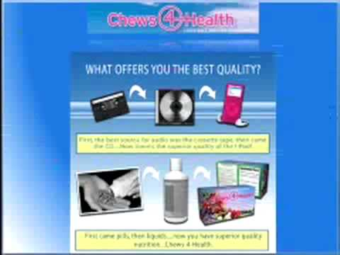 Chewable vitamins for adults! - The best (chewable vitamins) on the market is Chews4Health!