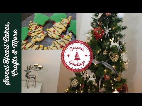 Christmas Trees & Greetings Plus Christmas Tree Cookies