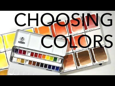 Choosing Colors For Your Watercolor Kit