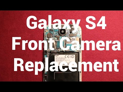 Galaxy S4 Front Camera Replacement How To Change