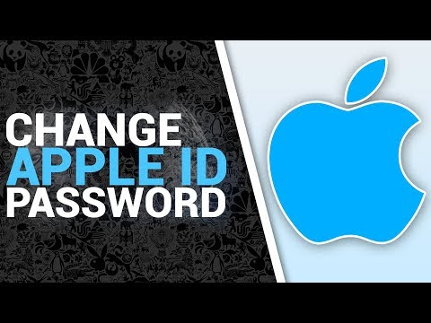 How To Change Apple ID Password On Computer OR Laptop On Windows 7,8,10 (2017/2018)