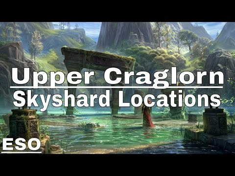 ESO | Upper Craglorn Skyshard Locations (Description)