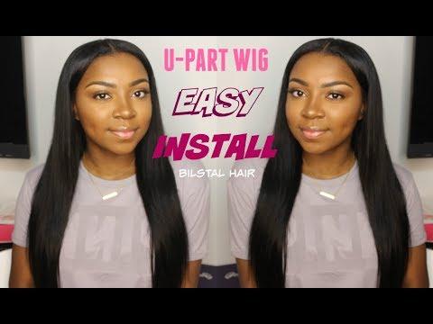 Easy U-Part Wig Install | Bilstal Hair $70
