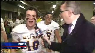 HILARIOUS High School Football Players Pre-game HYPE