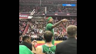 "Isaiah Thomas vs Wizards fan ""I will f--k you up and you know that"" full video"