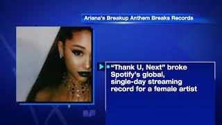 Ariana Grande's Breakup Anthem Breaks Records