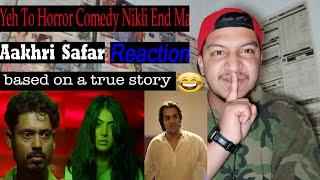 AAKHRI SAFAR Reaction | Ashish Chanchlani Horror Short Film By Pakistani Guy