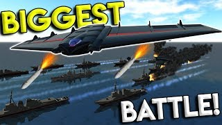 HUGE TOWER DEFENSE CITY BATTLE & AIRSTRIKE MOD! - Ravenfield