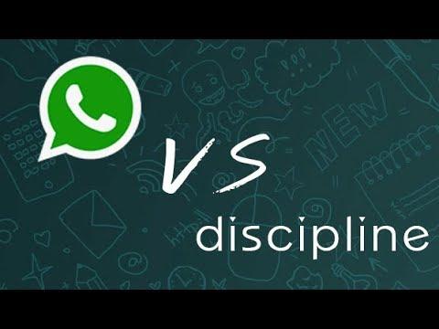 WhatsApp disciplines