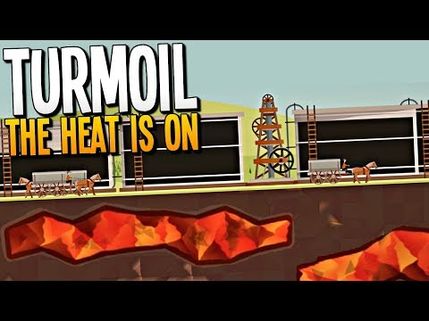 HOT MAGMA CAUSES BURSTING OIL EXPLOSIONS - Turmoil The Heat is On Gameplay