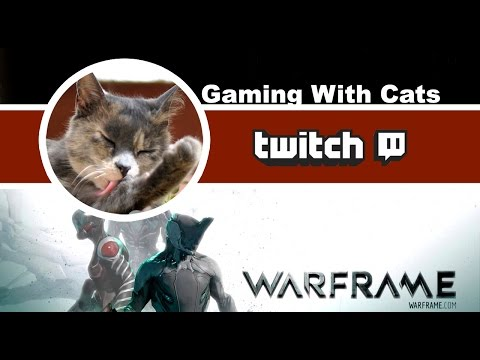 Warframe: Framing With Cats 8th April Part 1