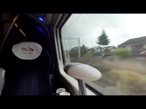 Leaving Birmingham International On A Virgin Trains Class 390 (03/3/16)