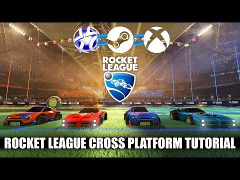 How to Play Cross Platform - Rocket League