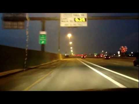 Single driver in HOV lane with a Hybrid- Green Light!