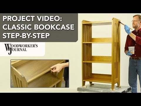 Building a Classic Bookcase | Step-by-Step Project Video