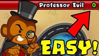 How to Beat The NEW Professor Evil Challenge in BTD Battles | Week 56