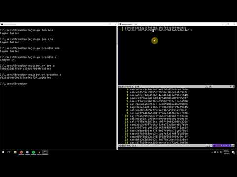 Playing with Hashing 03: Salting and Peppering