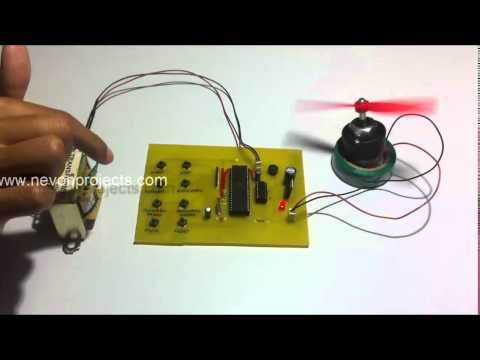 Microcontroller Based 4 Quadrant DC Motor Speed Control
