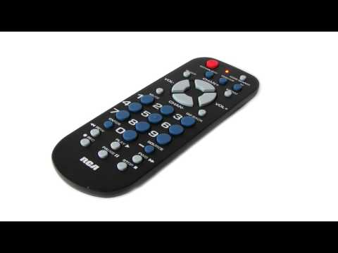 RCA Universal Digital Converter Box Remote Compatible With GE Zenith Insignia Coby Magnavox & More