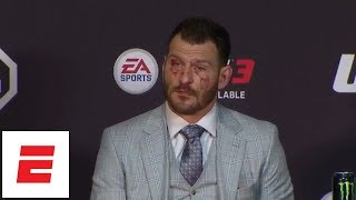 [FULL] Stipe Miocic reacts to loss vs. Daniel Cormier at UFC 226 post-fight press conference | ESPN