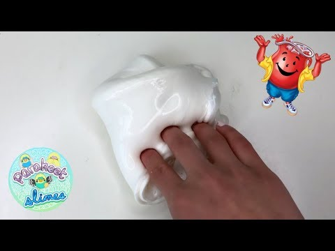 HOW TO MAKE CEREAL MILK SLIME WITH KOOLAID POWDER?! (ONLY 2 MAIN INGREDIENTS!!)