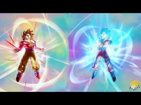 Dragon Ball Xenoverse 2: SSJ4 Goku Meets SSB Goku Story DLC (Extra Pack 2) - WHO'S THE BEST GOKU!?