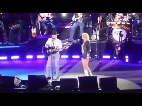George Strait & Miranda Lambert - Run (Dallas 06.07.14) HD