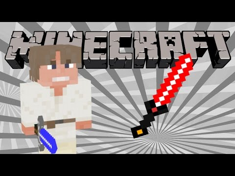 |Minecraft| How To Make a Lightsaber