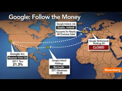 Google Joins Apple Avoiding Taxes With Stateless Income